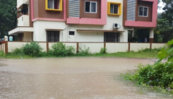 Low-lying areas inundated in Mangaluru after heavy rain