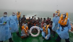 ICG rescues 24 fishermen stranded off Bhatkal coast