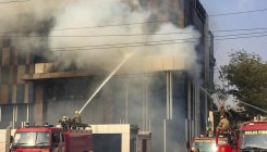 Fire breaks out at Delhi plastic factory, no casualty