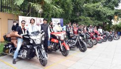 Bikers drive message for revival of tourism