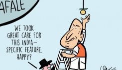 DH Toon | Rafale: 'Happy with India-specific feature?'