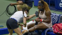 Serena Williams withdraws from Rome with injury