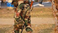 Army person with AK 47 live round handed over to MLIRC