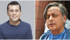 Tharoor's 'big words' praise floors Chetan Bhagat