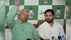 Lalu missing from poster, yuva Tejashwi lords over RJD