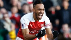 Aubameyang vows to become Arsenal 'legend'
