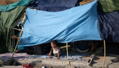 Force may be used to move homeless migrants in Greece