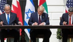 Israel, UAE, Bahrain sign historic Trump-brokered deal