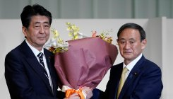 Japan PM Abe set to resign today; Suga to take charge