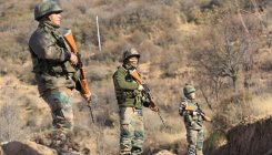Search for suspected terrorists continues in J&K