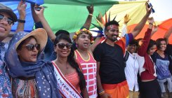 People from across India at Pride March